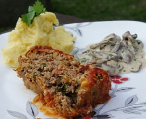 Fresh and Spicy Meatloaf