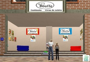 The JeBouffe shop in SecondLife