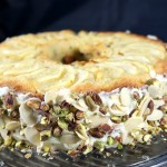 Pear and Pistachios Cake