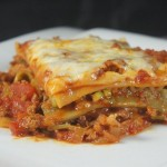 "Recipe for the ""Gargantua"" spicy lasagna"