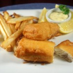 Fish & Chips plate