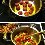 Sauce de boulettes aux grains du paradis étapes 2