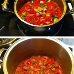 Sauce de boulettes aux grains du paradis étapes 3