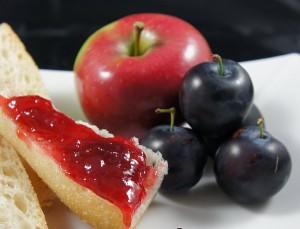 Confiture de pommes et prunes